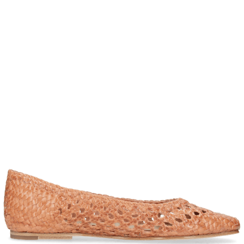 Baleriny Melly 1 Weave Orange