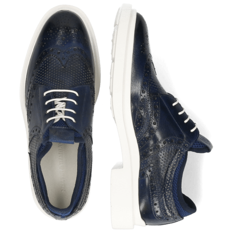 Derby Ron 2 Venice Perfo Navy