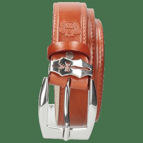 Paski Larry 1 Winter Orange Sword Buckle