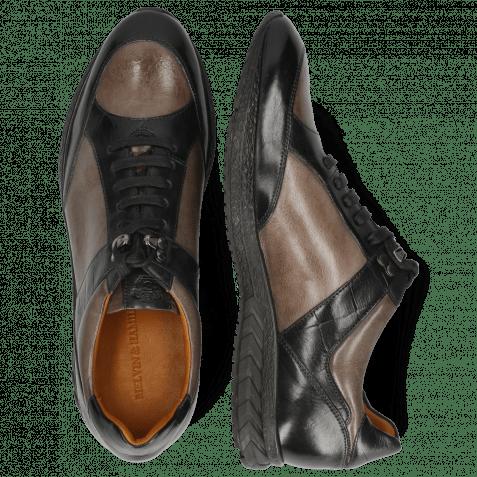 Sneakersy Blair 15 Monza Black Stone Turtle Black Nappa Grey