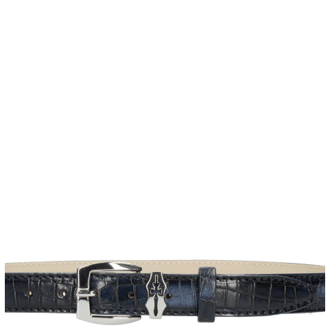 Paski Linda 1 Crock Navy Sword Buckle