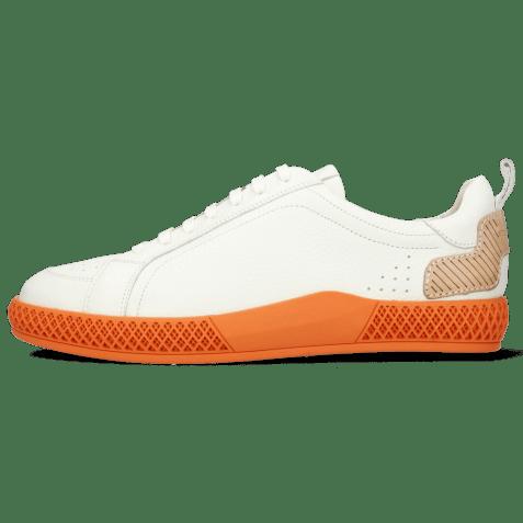 Sneakersy Harvey 36 Milled White TC Orange