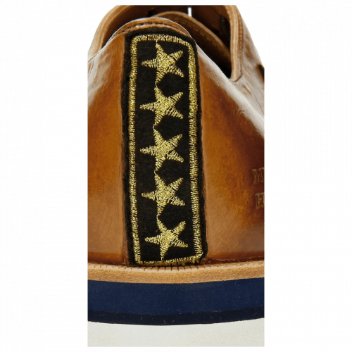 Oxford shoes Jeff 26 Tan Patch Rank Patch Stars