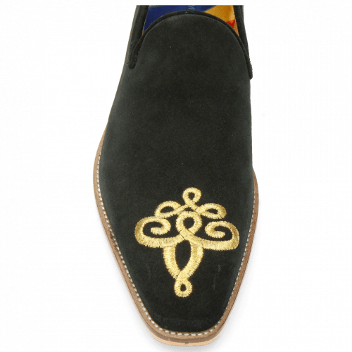 Loafers Leonardo 7 Suede Mr Touch Black