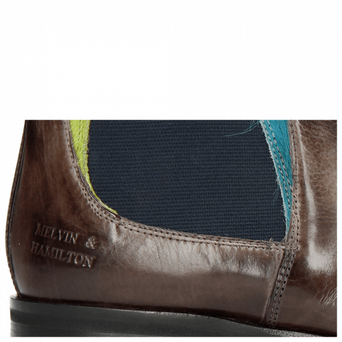 Ankle boots Toni 6 Stone Hair On Ice Blue Green