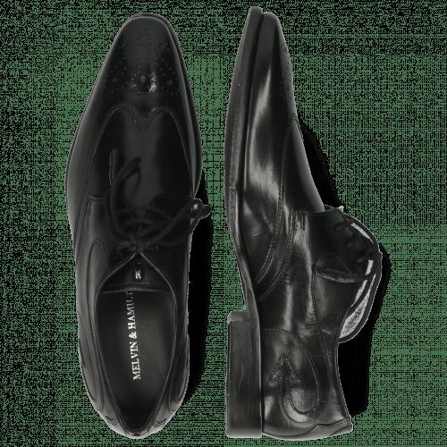 Derby shoes Elvis 63 Black Lining Black HRS Flex