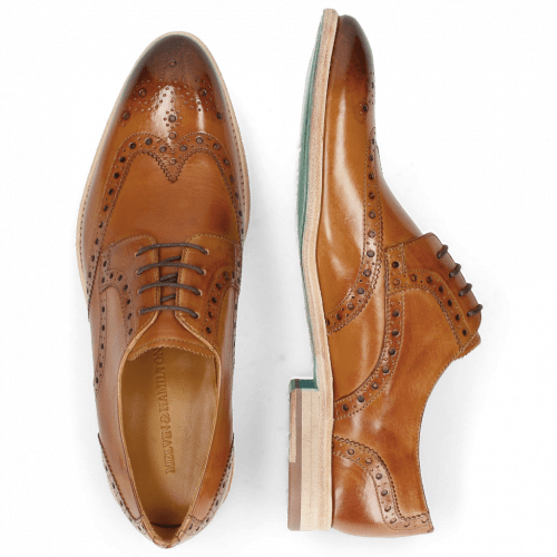 Derby shoes Bobby 5 Washed Tan