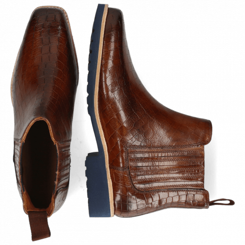 Ankle boots Bella 1 Crock Wood Elastic Navy