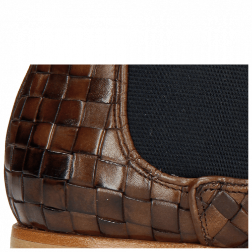 Ankle boots Sally 25 Woven Nappier Brown