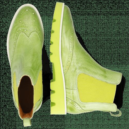 Ankle boots Selina 29 Imola Perfo Verde Chiaro
