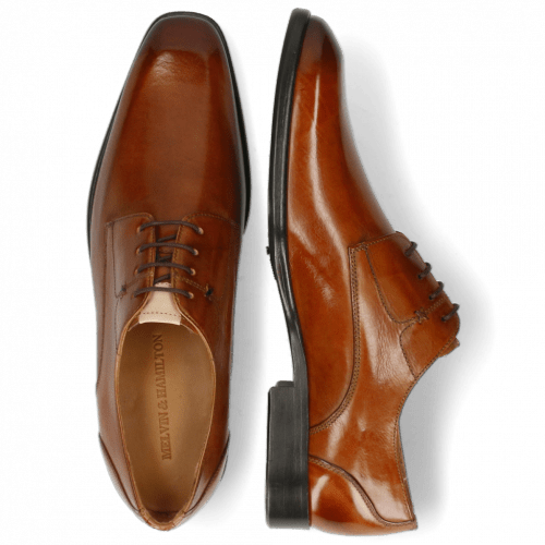 Derby shoes Elyas 4 Tan Lining Rich Tan
