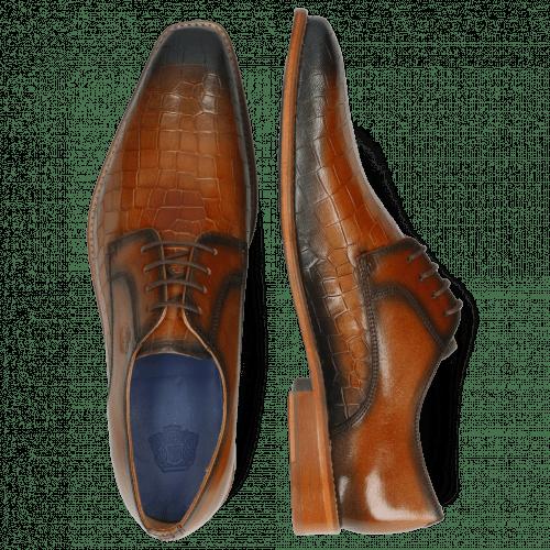 Derby shoes Martin 1 Venice Crock Tan Shade Wind