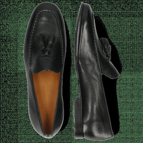 Loafers Clive 20 Monza Black Tassel Black
