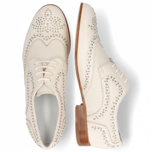 Derby shoes Sandy 2 Nappa Ivory Perfo