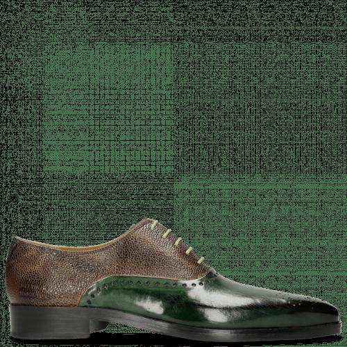 Oxford shoes Lewis 41 Prato Scotch Grain New Taupe