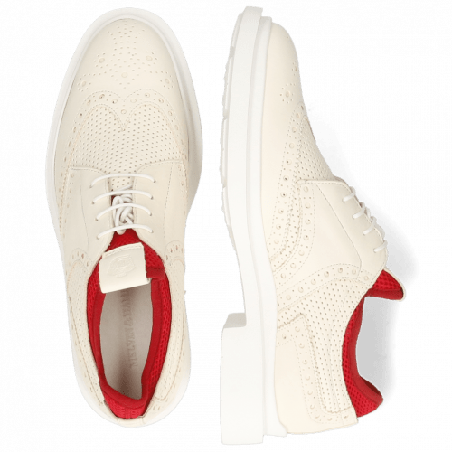 Derby shoes Ron 2 Perfo White Flex