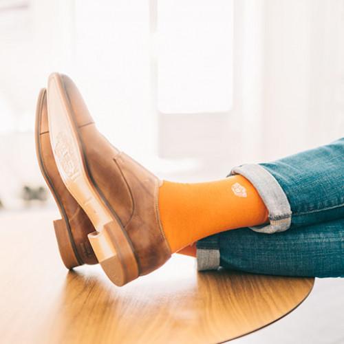Socks Charlie 2 Crew Socks Orange