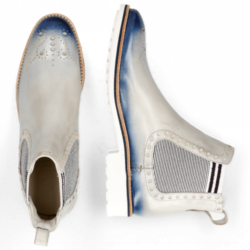 Ankle boots Amelie 8 Vegas Oxygen Shade Wind Elastic Oxford