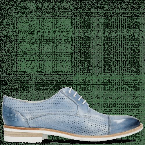 Derby shoes Amelie 2 Vegas Perfo Sky Blue