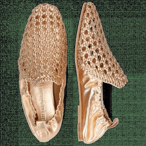 Loafers Melly 7 Mignon Nude Gold Nappa Talca