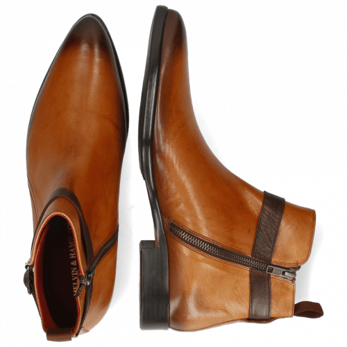 Ankle boots Toni 16 Pavia Tan Shade Dark Brown