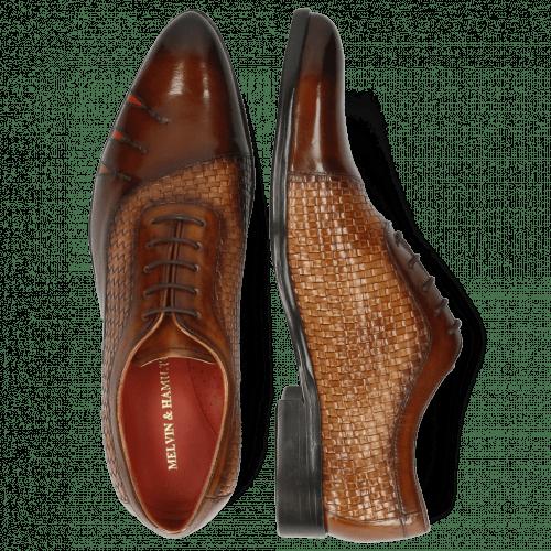 Oxford shoes Toni 44 Mesh Wood Sand Shade Brown
