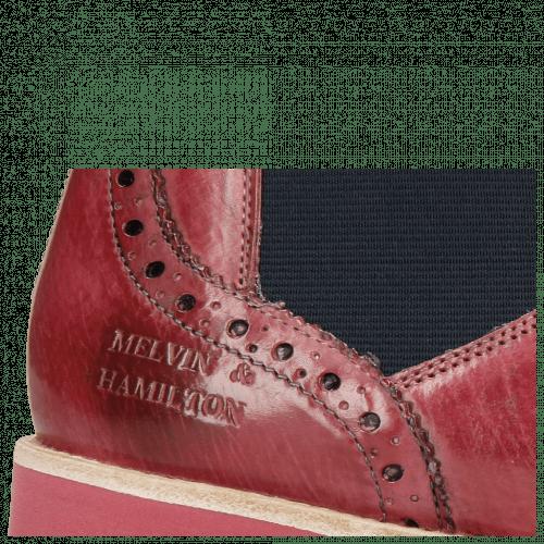 Ankle boots Selina 6 Bubblegum Elastic Navy
