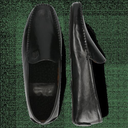 Loafers Home Donna Imola Black Sherling Black