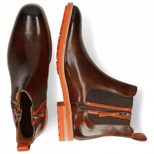 Ankle boots Eddy 25 Classic Mid Brown Winter Orange
