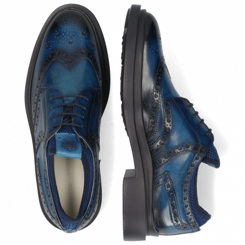 Derby shoes Ron 2 Mid Blue Shade Navy