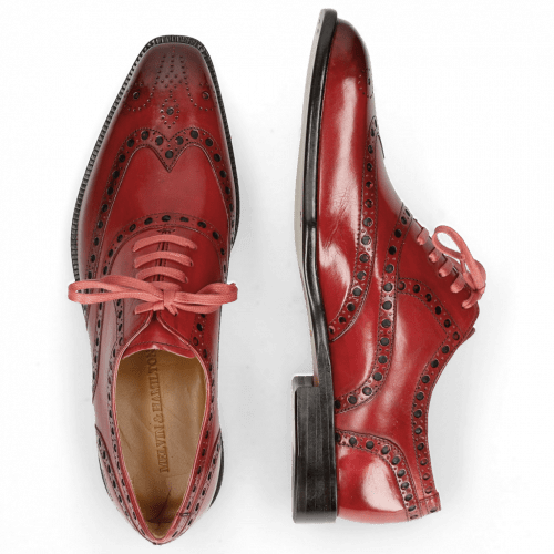 Oxford shoes Jacob 1 Washed Ruby