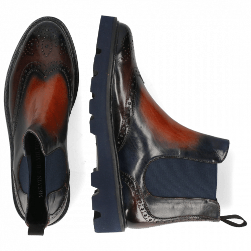 Ankle boots Selina 65 Vegas Multi Shade Navy Earthly Wine