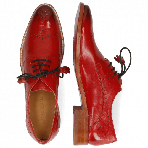 Derby shoes Betty 2 Pavia Fiesta Lining