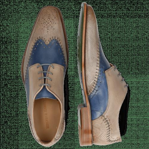Derby shoes Clark 1 Venice Python Digital Wind