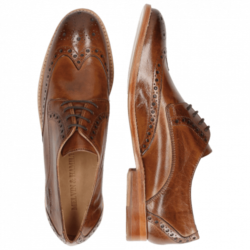 Derby shoes Amelie 3 Classic Tan LS Natural