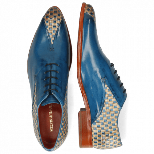 Oxford shoes Toni 31 Woven Pop Blue Nude Mid Blue
