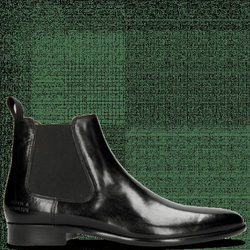 Ankle boots Clint 7 Black Elastic Black