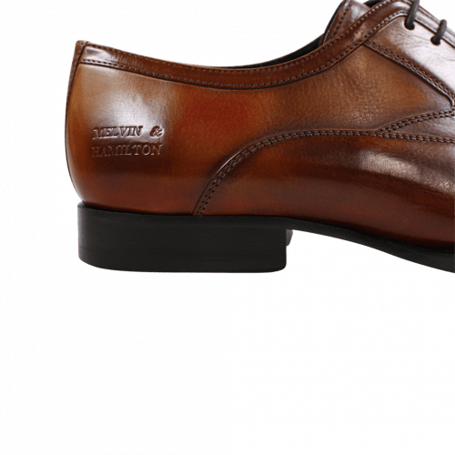 Oxford shoes Woody 3 Tan Brown Red Washed