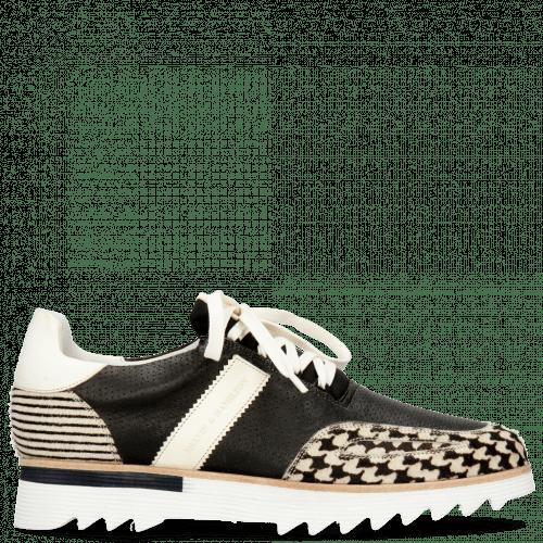 Sneakers Hank 2 Hairon Tweed Vegas Black White