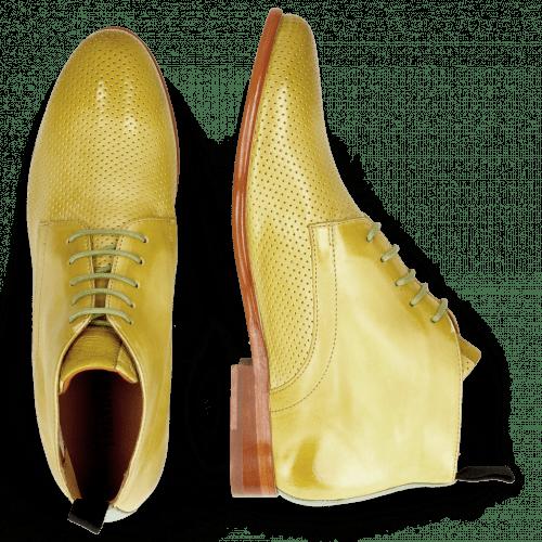 Ankle boots Selina 28 Vegas Perfo Olivine Algae
