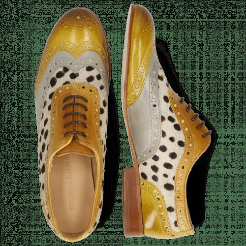 Oxford shoes Sally 97 Vegas Olivine Digital Sand Hairon Wildcat