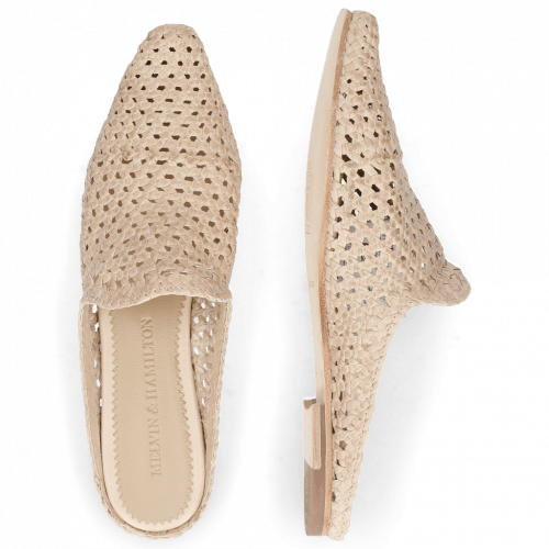 Mules Jollie 14 Woven Off White