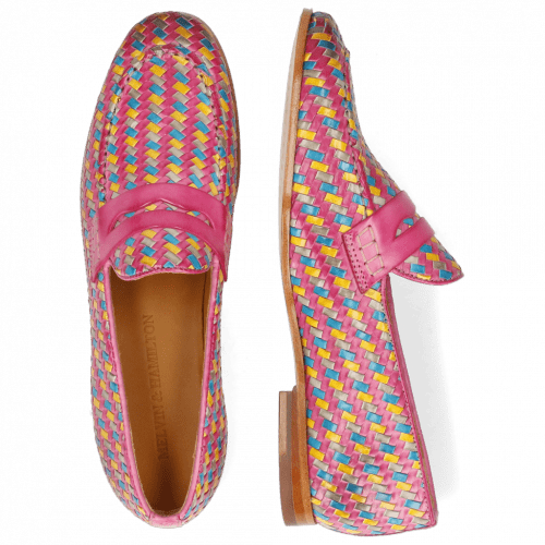 Loafers Scarlett 52 Vegas Haring Bone Weave Multi