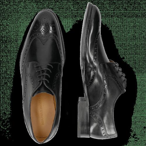 Derby shoes Kane 5 Black Lining Rich Tan