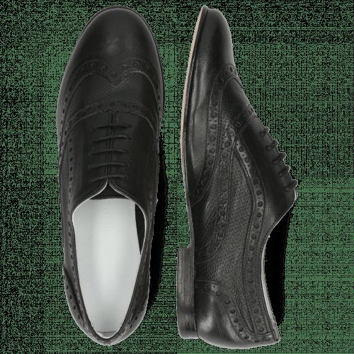 Oxford shoes Sonia 1 Nappa Perfo Black