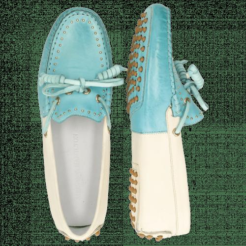 Loafers Caroline 8 Vegas Mermaid White