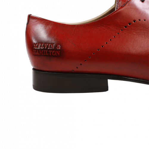 Derby shoes Sally 1 Crust Rich Red HRS