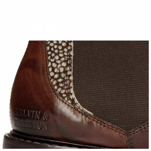 Ankle boots Sally 113 Mogano Hairon Halftone