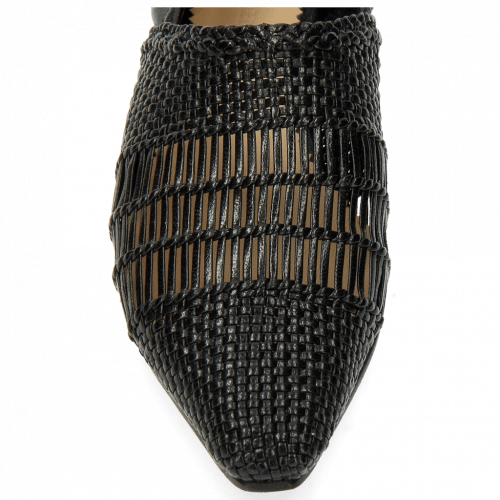 Loafers Joolie 12 Woven Nappa Black