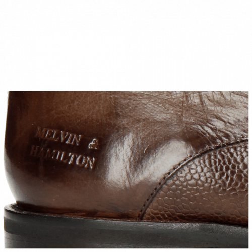 Derby shoes Lance 8 Scotch Grain Chestnut